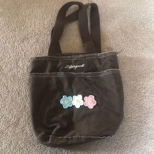 Life is Good Flower Tote